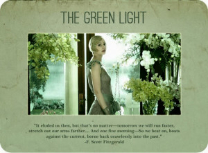 The Great Gatsby Quotes Green Light The green light