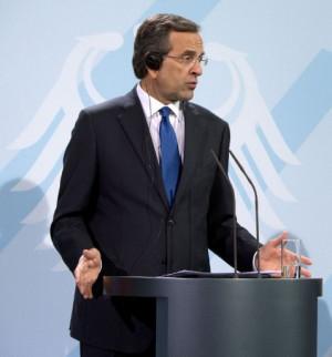 Greece's prime minister Antonis Samaras. ©AFP