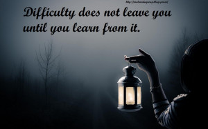 Best difficulty inspirational quotes