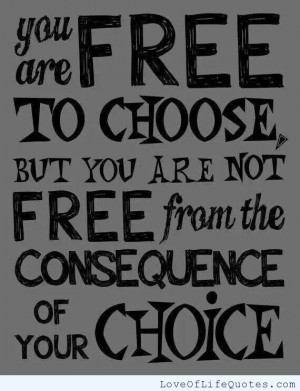 related posts you are free to choose you are free to choose but you ...