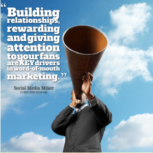 Quotes Picture: building relationships, rewarding and giving attention ...