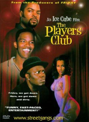 Players Club Movie DVD