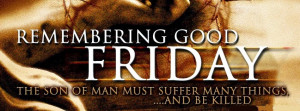 happy good friday facebook cover with quote happy good friday