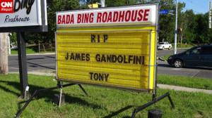 ... Tony ... James pass away. We'll always know him as Tony, you know. I