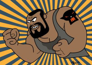 The manliest cartoon for boys in the 90's