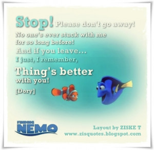 finding nemo dory quotes