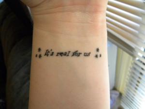 30 Sensational Short Tattoo Quotes