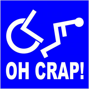 Funny Handicap Signs | toilets signs tucked away in toilets signs ...