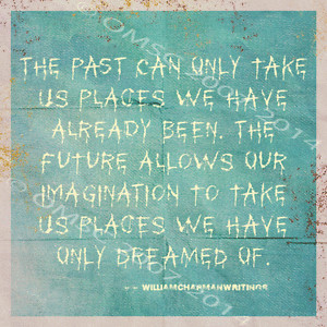 The-Past-Present-And-Future-Metal-Sign-Motivational-Quote-Positive ...