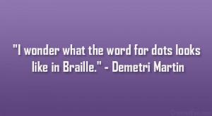 Demetri Martin Quotes