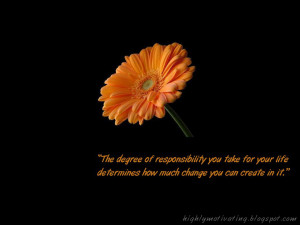 Motivational Quotes For Responsibility
