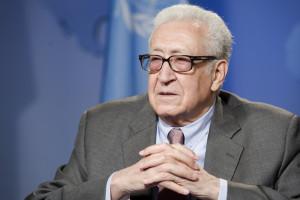 ... League of Arab States for Syria Lakhdar Brahimi (UN Photo/Mark Garten