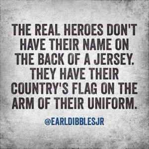 Honor all of our fallen heroes