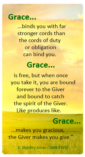 The Spiritual Law of GRACE