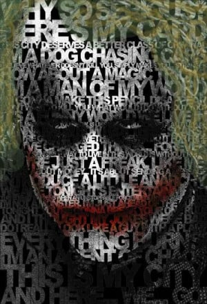 The Joker Quotes Poster Heath Ledger by CochiseMFC
