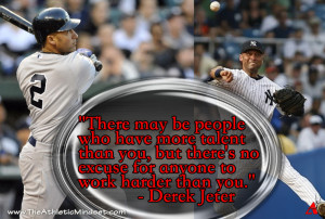 Jeter quote Talent