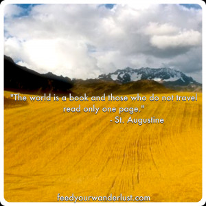 Tags: A Few Words on Travel , Featured , St. Augustine , Travel Quotes