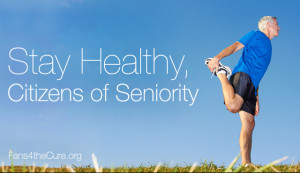 Stay Healthy, Senior? Citizens