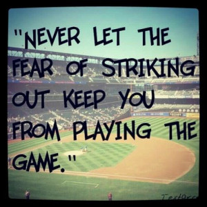 Favorite baseball quote :)