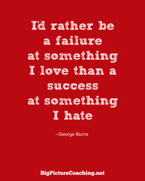 BPC George Burns quote Feb 28