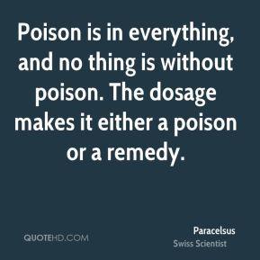 More Paracelsus Quotes
