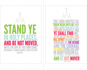 2013 LDS Mutual Theme-Stand Ye in Holy Places-MULTI