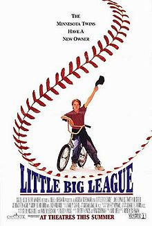 Major League Movie Owner Poster Little big league theatrical