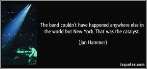 More Jan Hammer Quotes