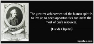 More Luc de Clapiers Quotes