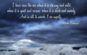 Have Seen The Sea When It Is Stormy And Wild, When It Is Quiet And ...