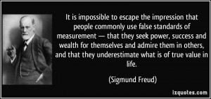 It is impossible to escape the impression that people commonly use ...