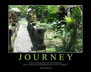 Journey Motivational Quote