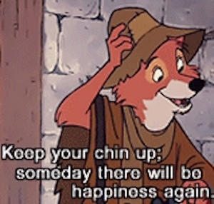 Hood quote - When you lose a child, you never look at Disney movies ...