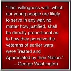 PRESIDENT GEORGE WASHINGTON'S QUOTE