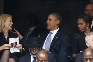topics obama obama selfie michelle obama nelson mandela funeral life ...