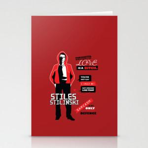 Stiles Stilinski Quotes Teen Wolf Stationery Cards