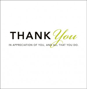 Thank You: In Appreciation of You, and All That You Do (Gift of ...