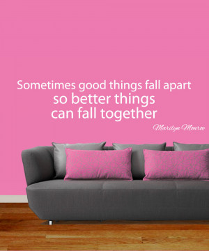 Fall Apart Quotes