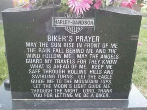 Bikers' Prayer