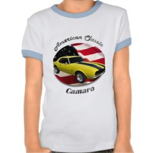 Chevy Camaro Girl's Ringer Tee Shirt