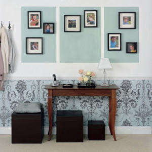 wall-paper-hallway-decor-stylish-low-budget-easy-designer-simple-wall ...