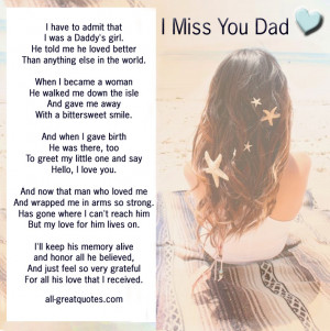 ... gt gt In Loving Memory Verses For Father Dad Memorial Poems For Dad