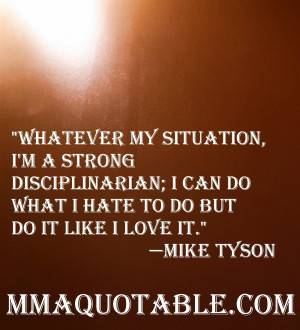 ... advice for Mixed Martial Arts fighters and human beings in general