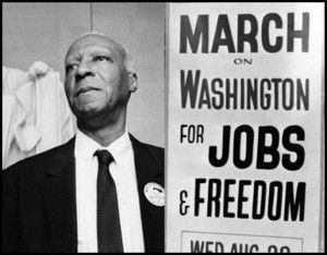 Philip Randolph in 1963. His proposed March on Washington in 1941 ...