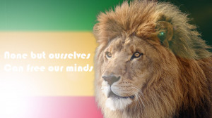 Rasta Lion Judah Bob Marley Quote by jamaicavb