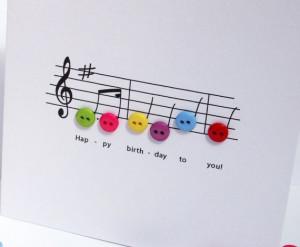 Music Cards, Birthdaycards, Birthday Music, Happy Birthday, Music Note ...