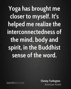 Christy Turlington Quotes