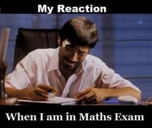 My Reaction–Math Exam | My Reaction
