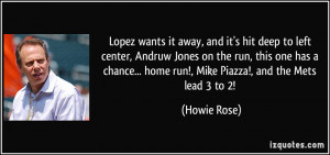 ... ... home run!, Mike Piazza!, and the Mets lead 3 to 2! - Howie Rose