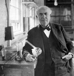 Thomas Edison Quotes About